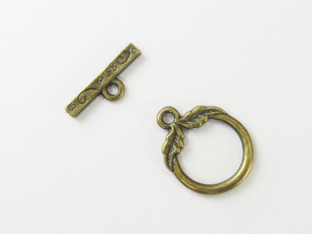 画像1: マンテル/ウイングリーフ/真鍮古美 (1)