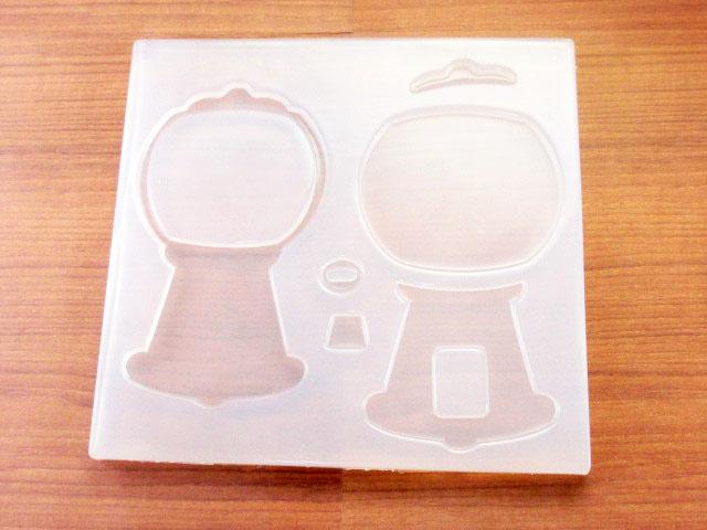 画像1: シリコンモールド/組み立て型/ガチャガチャマシーン (1)